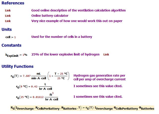 Figure M: Calculation Setup.