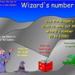 Wizards number - up to 1000 - A Blundred: