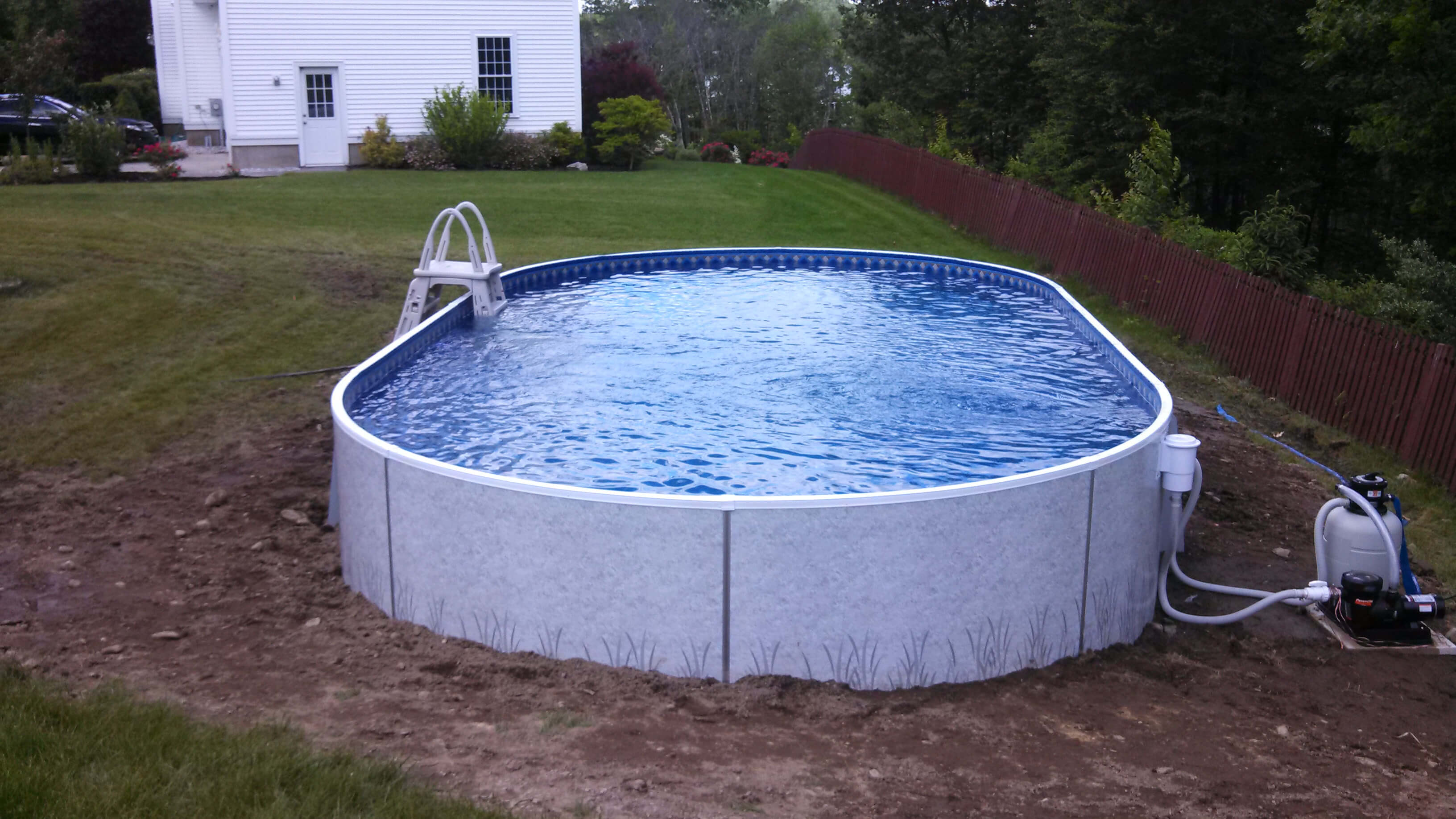 Jacuzzi Pool Installation Ayer Ma Above Ground Swimming Pool Matley Swimming Pools And Spas