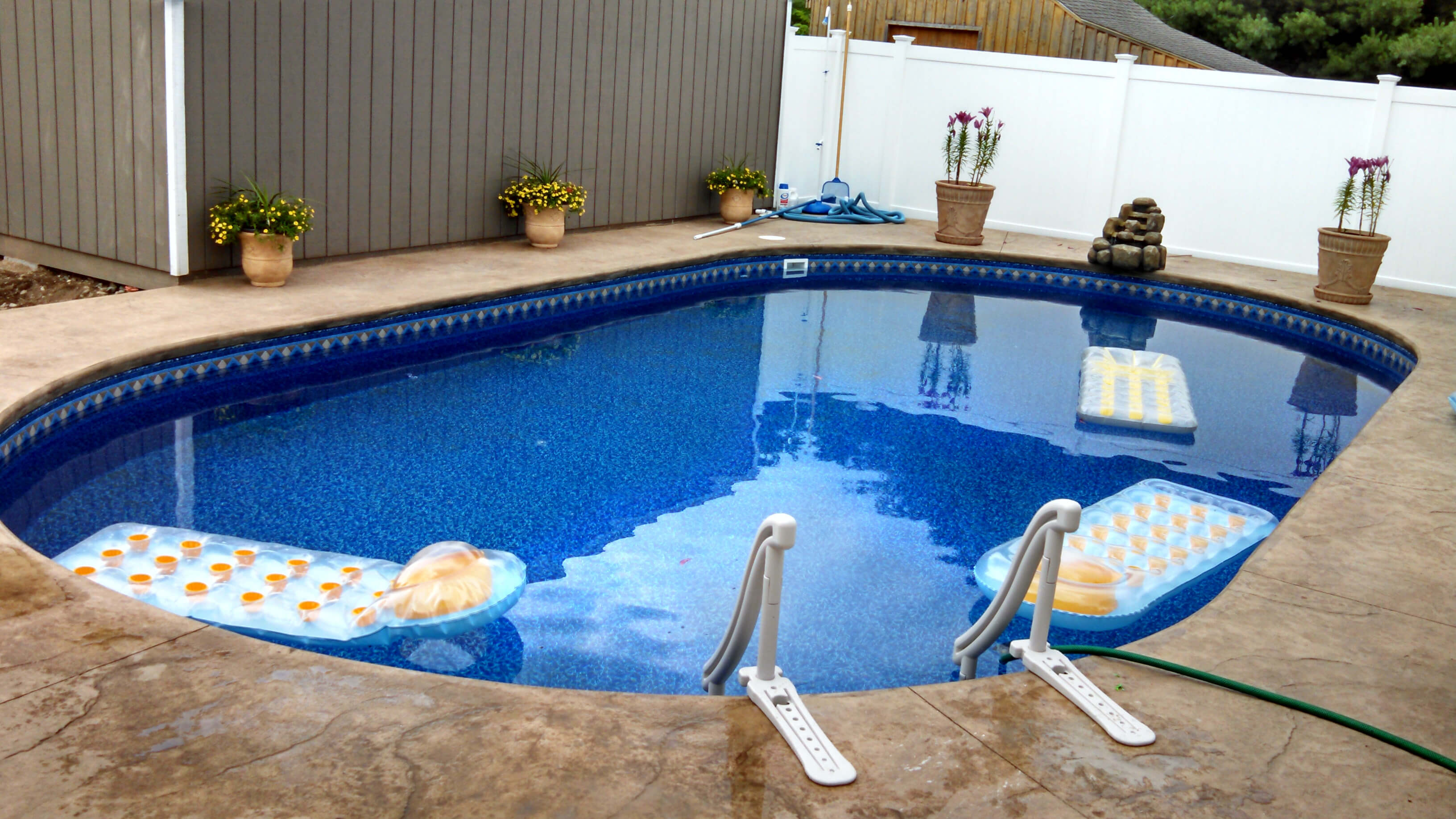 Jacuzzi Oval Pool Groton Ma Oval Inground Swimming Pool Matley Swimming