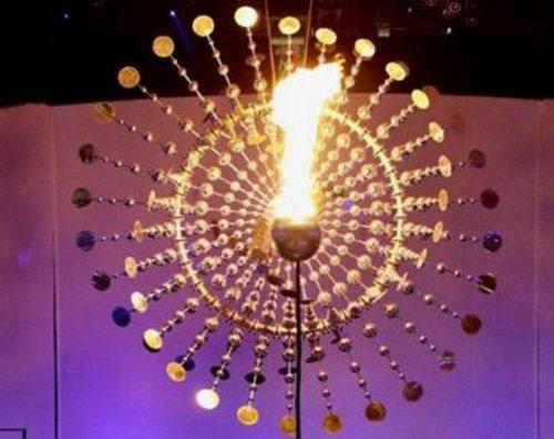 リオ・オリンピック聖火台