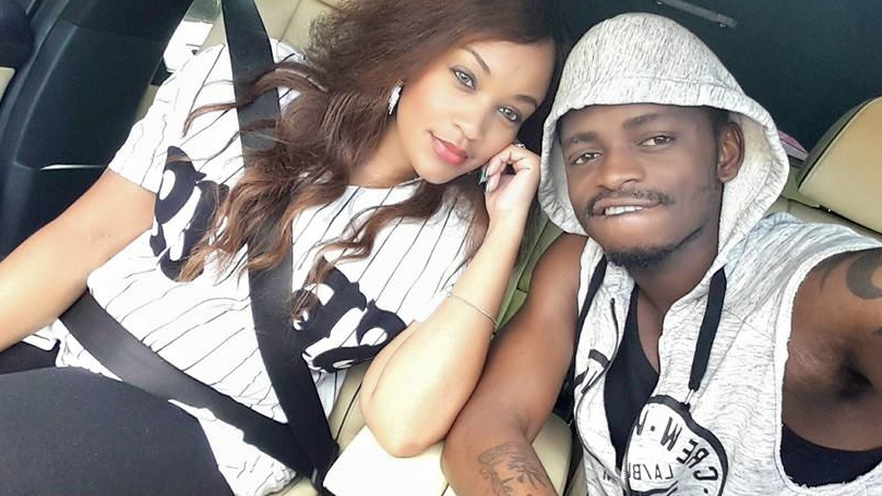 Singer DIAMOND And ZARI Get Naughty On Camera Ahead Of Valentine's! (PHOTOS)