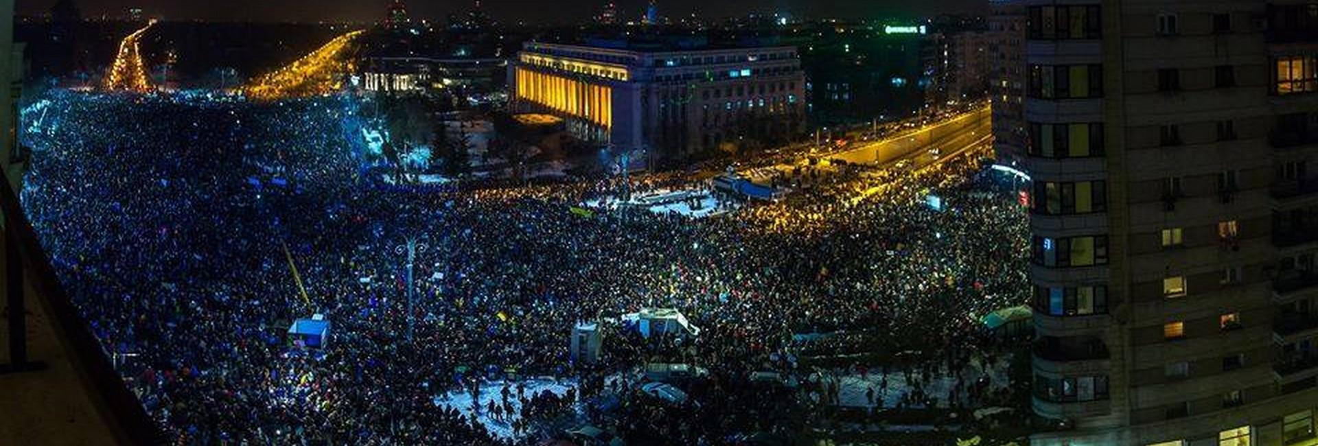 proteste Bucuresti - Dan Mihai Balanescu