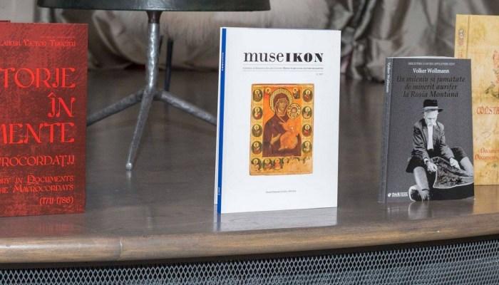 lansare revista Museikon muzeu istorie artă slider