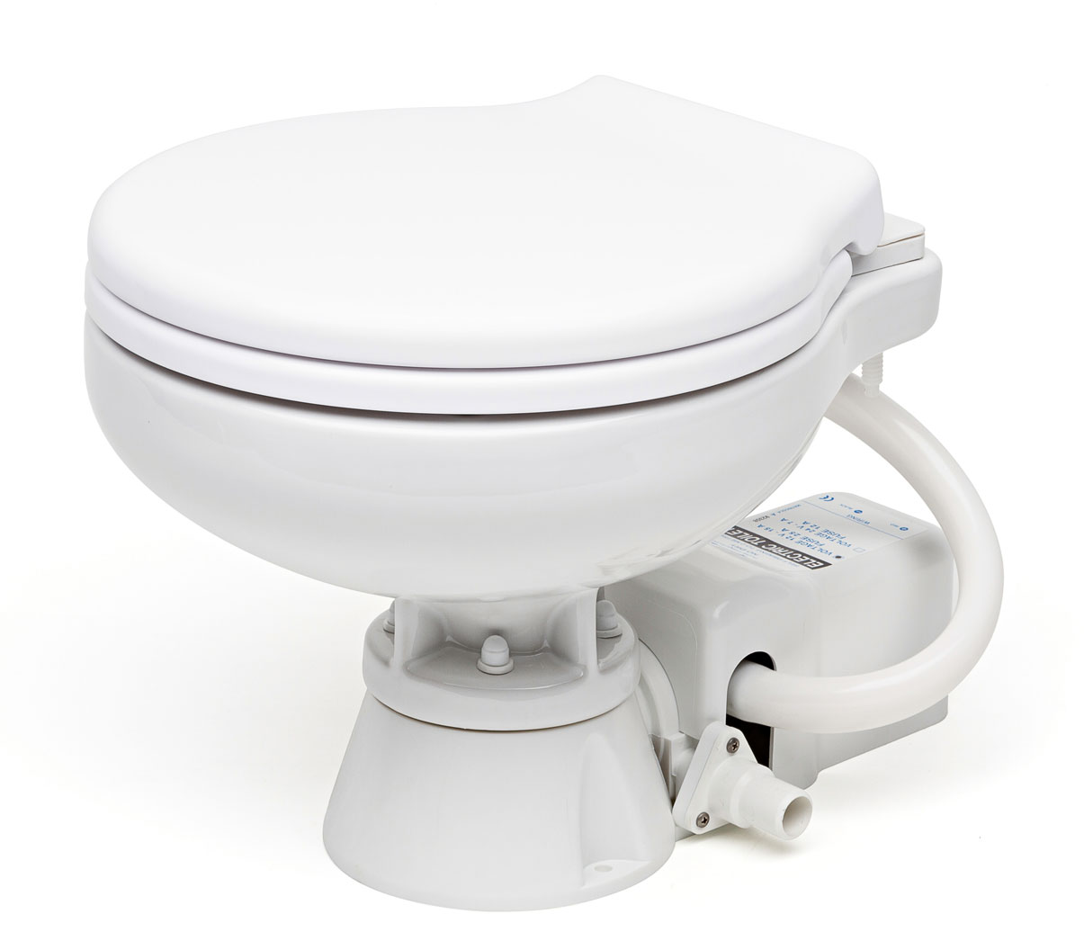 Commode Marine Matromarine Products Electric Toilet Space Saver 12v