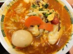 日高屋のトマト酸辣湯麺!ミネストローネ風でマイルド
