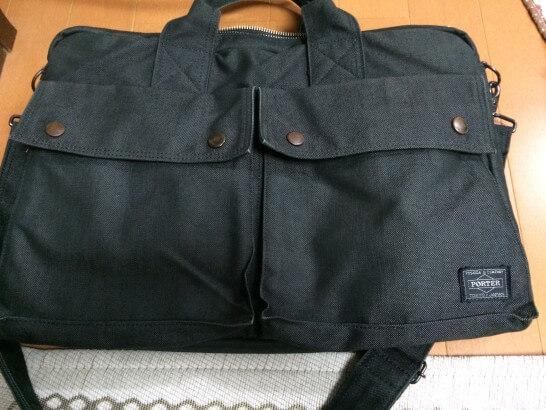 エポスカードで買ったポーターのバッグ