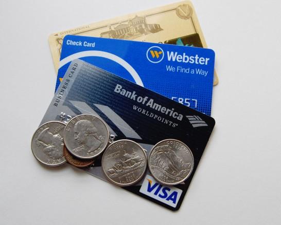 クレジットカード・硬貨