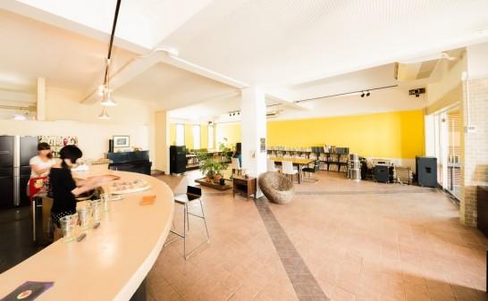 電源など設備が充実のカフェ
