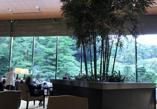 シェラトン都ホテル東京のラウンジ バンブー