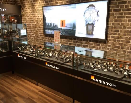 マルイの時計売り場