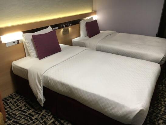 メトロポリタン エドモントのベッド