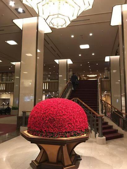 帝国ホテル東京のロビー