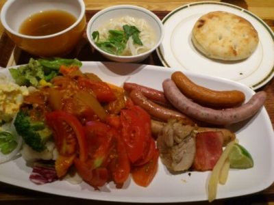 リゾナーレ八ヶ岳の朝食ビュッフェ