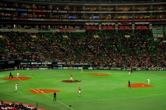楽天イーグルスの野球の試合