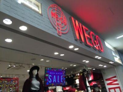 WEGOの店舗