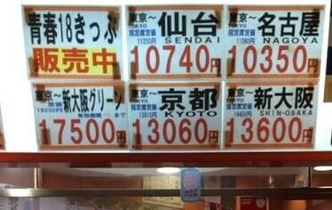 金券ショップの看板
