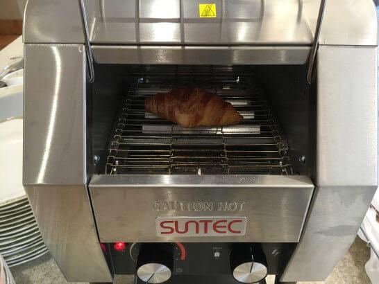 フォレスト・イン昭和館のパン焼き器