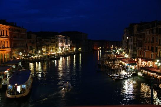ベネツィアの夜景