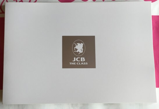 JCB THE CLASSの封入物