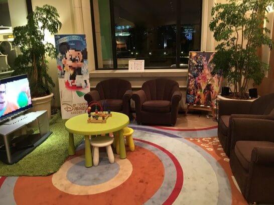 ホテルオークラ東京ベイのキッズスペース