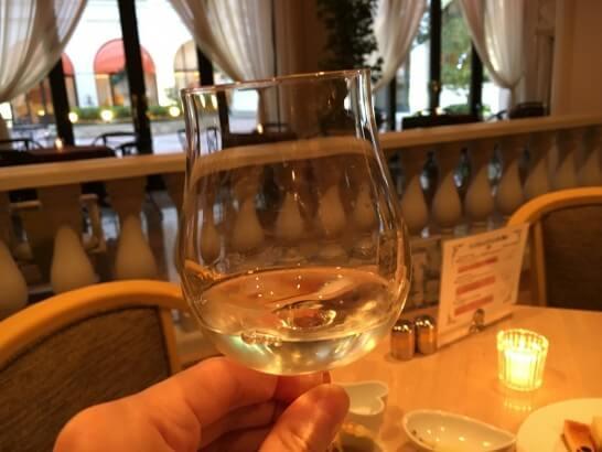 レストランフォンタナのワイン