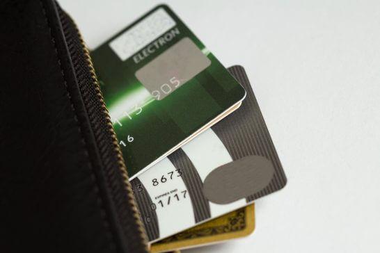 財布とカード