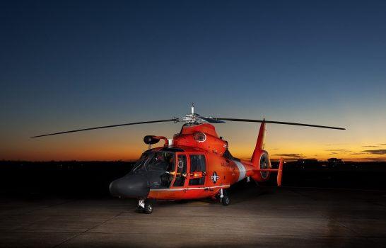 捜索救助のヘリコプター