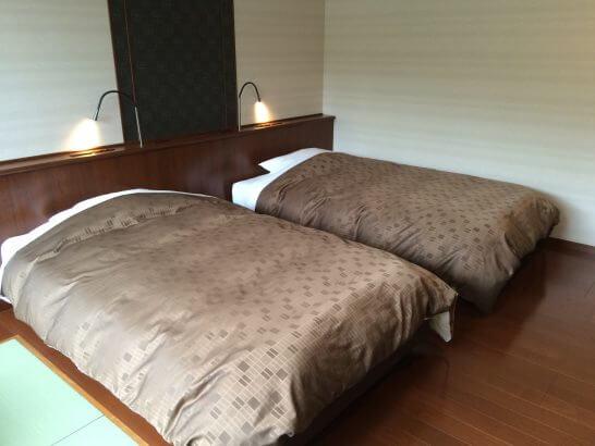 休暇村奥武蔵のベッド