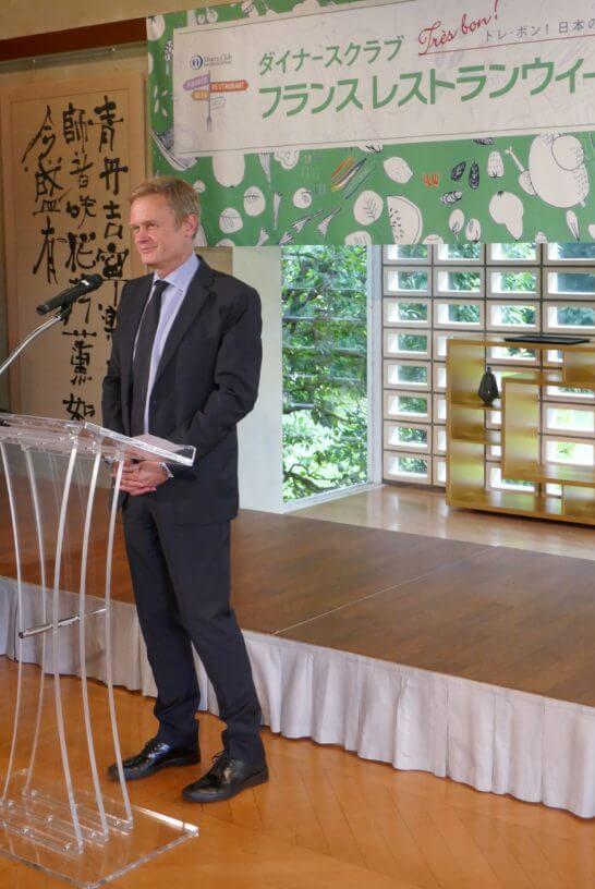 駐日フランス大使 ローラン・ピック