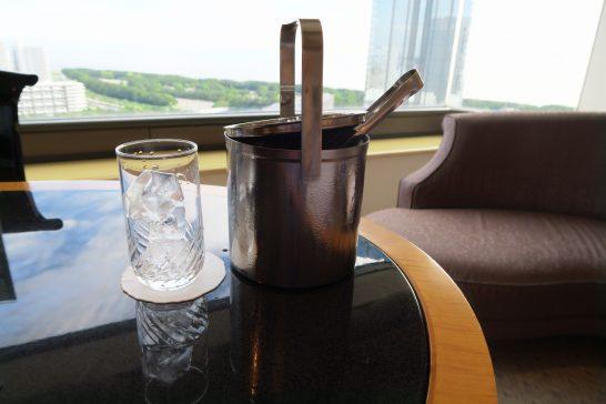 ホテルニューオータニ幕張の氷のルームサービス