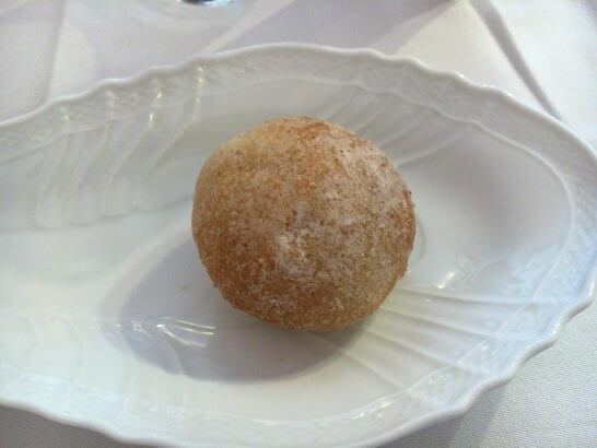 RISTORANTE REGAの全粒粉のパン