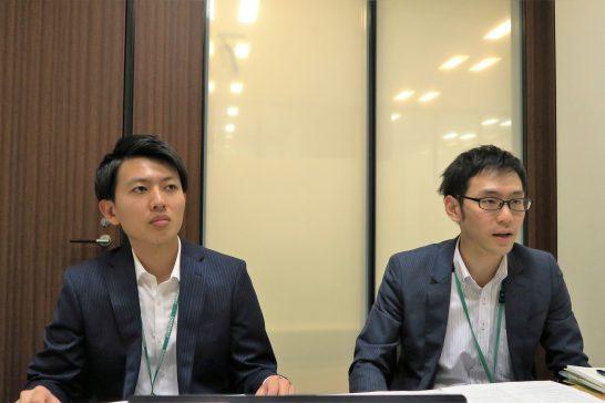 三井住友カードの田村さんと山口さん