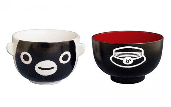 Suicaのペンギン 汁椀・茶碗セット