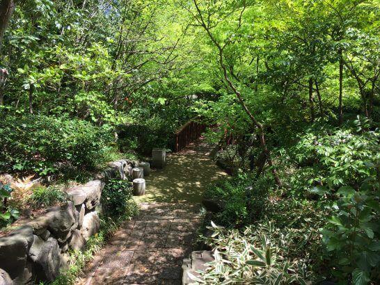 ウェスティンホテル大阪の日本庭園 (3)