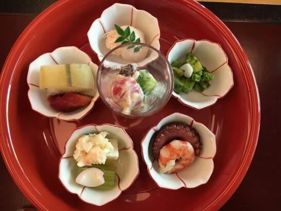 日本料理「はなの」の「なでしこ」の酒菜