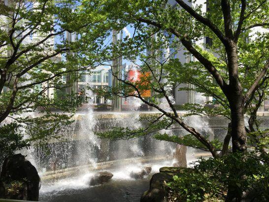 ウェスティンホテル大阪の滝