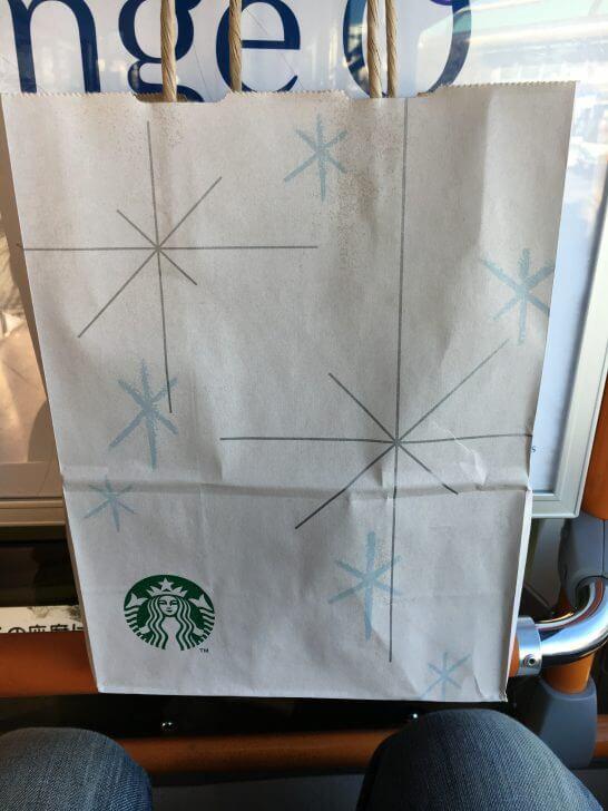 スターバックスの紙袋