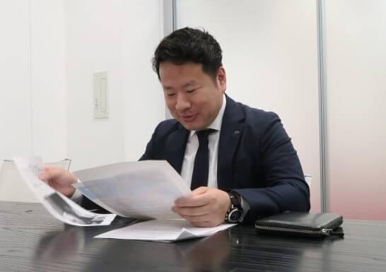 岩井コスモ証券 ネット取引統括部の夏目さん (2)
