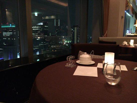 横浜ベイシェラトン ホテル&タワーズのベイ・ビューの夜景