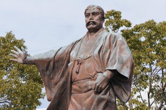 三菱財閥の創始者・岩崎弥太郎像