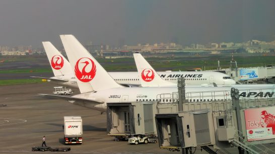 JALの飛行機 (1)
