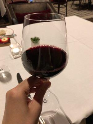 フレンチビストロ「ル ドール」の赤ワイン