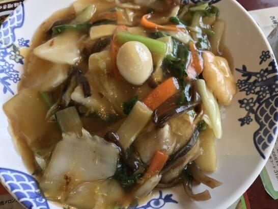 バーミヤンの中華丼