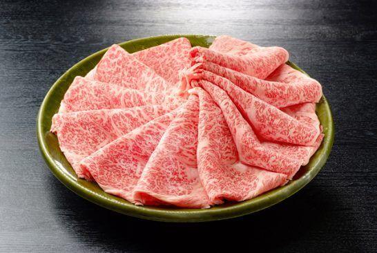 佐賀県小城市のふるさと納税返戻品(佐賀牛しゃぶしゃぶ・すき焼き用900g)