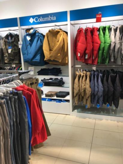 コロンビアの店舗