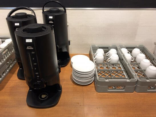 イオンラウンジのコーヒー・カップ