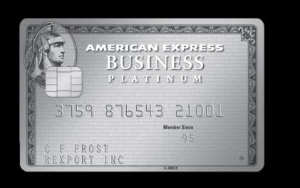 アメリカン・エキスプレス・ビジネス・プラチナカード