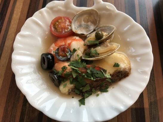 フォレスト・イン昭和館のランチ(海鮮料理)