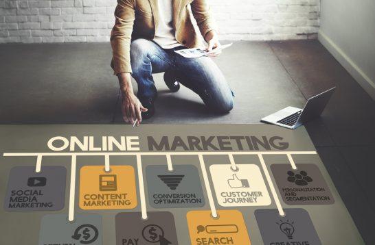 インターネットマーケティングのイメージ